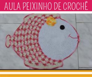 Como Fazer Tapete de Crochê Peixinho