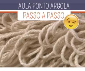 Como Fazer Ponto Argola em Crochê