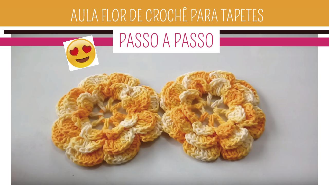 Arquivos Flor P Gina 6 De 7 Como Fazer Croch Passo A Passo