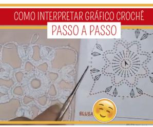 Como Interpretar Gráficos de Crochê – COMECE AQUI!