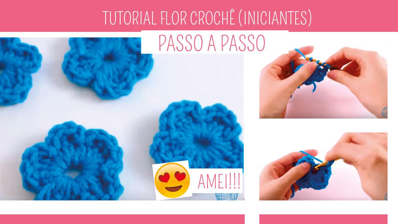 Descubra Como Fazer Flor em Crochê Para Iniciantes