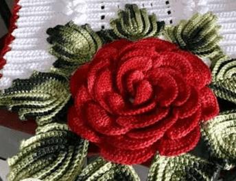 Mega Rosa de Crochê [PASSO A PASSO]