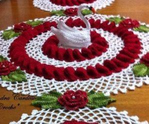 Toalha de Crochê Floral [Inspiração + Passo a Passo]